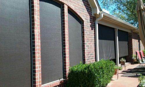 Install Solar Screens in Houston