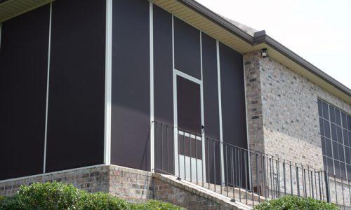Solar Screen Installation in Houston